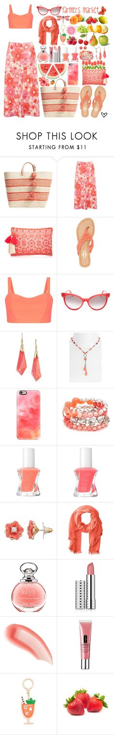 """""""~Farmers Market~"""" by justwanderingon ❤ liked on Polyvore featuring Mar y Sol, M&Co, Monsoon, Charles Albert, Wildfox, Alexis Bittar, Dabby Reid, Casetify, Ruby Rd. and Essie"""