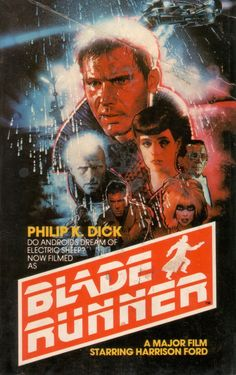 """Vintage poster for """"Blade Runner"""" 80s Movie Posters, Tv Movie, Classic Movie Posters, Cinema Posters, Movie Poster Art, Cult Movies, Sci Fi Movies, Classic Films, Good Movies"""