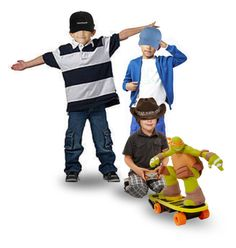 """""""Doc, Mo & Betty Brought a Remote Controlled Skateboarding Teenage Mutant Ninja Turtle, Which Was Well Broken in by Richie, Javier, & Pablo Before Tomás, Hector, Betty, Phoebe, Russell, Willa, or Even Johnny Could Get Their Hands on It"""" by maggie-johnston ❤ liked on Polyvore featuring art"""