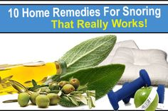 These 10 Home Remedies For Snoring Are Very Effective. If you or someone you know has a snoring problem, give these remedies a try! Home Remedies For Snoring, Sleep Apnea Remedies, Natural Home Remedies, What Causes Sleep Apnea, Causes Of Sleep Apnea, Falling Asleep At Work, How To Fall Asleep, Ways To Sleep, How To Get Sleep