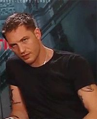 Tom Hardy inception gif. Yummy.... Sultry. Sexy. Sleepy? Jk