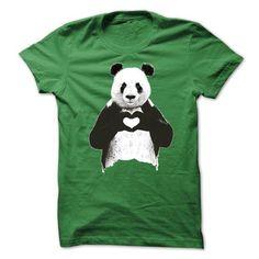 Keep Calm and Love Pandas T Shirts, Hoodies. Get it now ==► https://www.sunfrog.com/Pets/-Keep-Calm-Love-Pandas.html?41382
