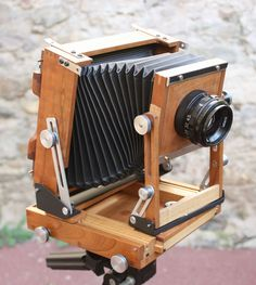 Jean d'Avignon's 4 x 5 camera