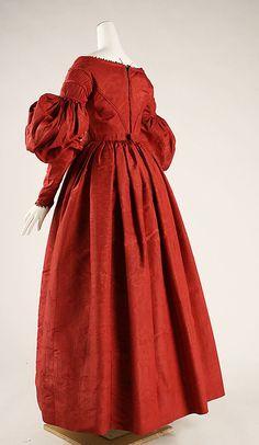 Dress 1837 (Metropolitan Museum of Art) No. 37.192