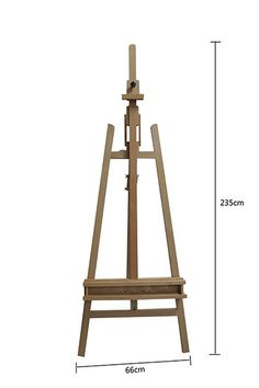 New Pro Heavy Duty Foldable Wooden Tripod Easel Artist Art Painting Stand in Crafts, Art Supplies, Easels Artist Painting, Artist Art, Artist At Work, Art Easel, Diy Garden Furniture, Wooden Easel, Art Supply Stores, Art Supplies, Wood Projects