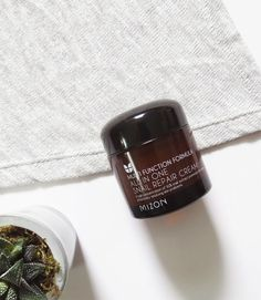 The cult-favorite Korean Beauty sensation, Mizon All-in-One Snail Repair Cream. Concentrated with a whopping 92% snail mucin, this product repairs damage, tackles dark spots/hyperpigmentation, heals acne & scarring, and hydrates the skin! | Peach and Lily