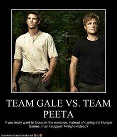 TEAM GALE VS. TEAM PEETA