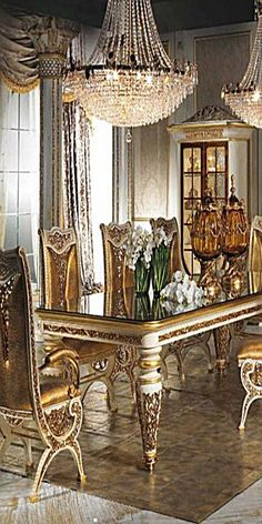high end luxury dining room furniture furniture design Luxury Dining Tables, Elegant Dining Room, Luxury Dining Room, Dining Table Design, Dining Room Sets, Dining Room Table, Room Interior Design, Luxury Interior, Luxury Furniture