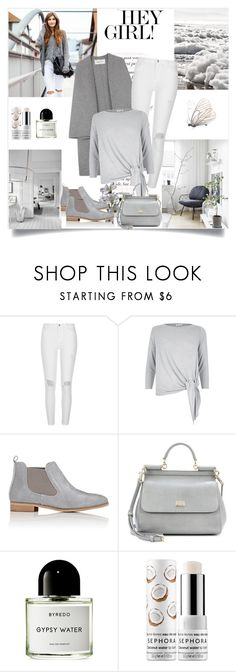 """""Never lose hope...The butterfly is proof that beauty can emerge from something completely falling apart""."" by danniss ❤ liked on Polyvore featuring River Island, Barneys New York, Dolce&Gabbana, Byredo and Sephora Collection"