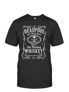 Deadpool Jack Daniels design