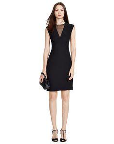 Bergen Silk Dress - Black Label Evening Dresses - RalphLauren.com