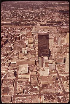 Minneapolis from Above, 1973