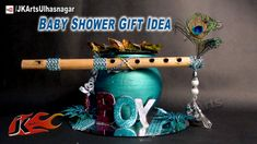 #DIY Baby Shower Gift idea on Krishna God theme | How to make | JK Arts 622