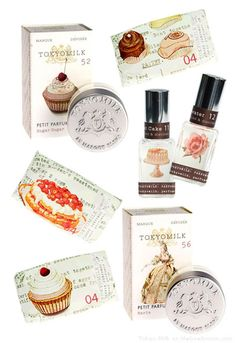 i love Tokyo Milk perfumes and products, plus they have beautiful designs