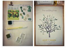 diy-family-tree-wedding-guest-book - The Sweetest Occasion