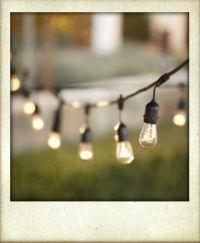 Vintage Lightbulb String