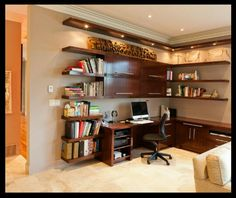 Dylan's office/study room