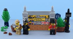 https://flic.kr/p/NGzANV   What happens in Leicester square ?   Hello, welcome to the 48 Leicester square in London ! Today I'm looking for Lester the tea drinker and I've some exclusive stickers at the Lego Store Lyon... Rumor has it that we will be seeing an exclusive minifigure that will somehow be distributed as part of the Grand Opening of the new flagship Lego Store in London's Leicester Square on November 17, 2016. Original picture by me