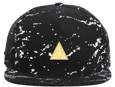 Splatter Metal Triangle Strapback Cap by HUF