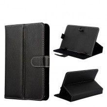 Custodia Tablet 7 Pollici - Funzione Supporto con Chiusura - Nero  € 7,99