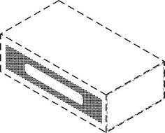 The mark consists of the three dimensional configuration of a container for spices including a match striking surface on the rectangular side of a box