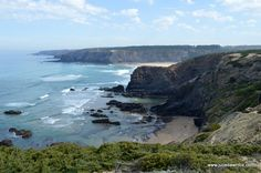 Odeceixe coastal walk on the Rota Vicentina: Rocks, beaches and flowers