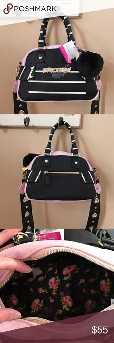 Betsey Johnson bag Can be worn as cross body or hand bag Betsey Johnson Bags Crossbody Bags