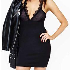 Nasty Gal Black Dress