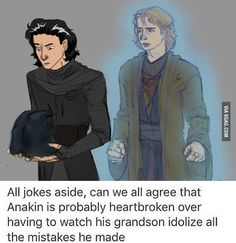 Anakin is heartbroken - 9GAG