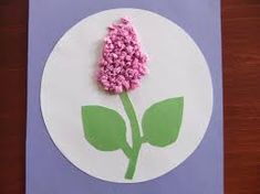 Flower craft and art idea for preschool Projects For Kids, Diy For Kids, Crafts For Kids, Easy Crafts, Diy And Crafts, Paper Crafts, Flower Crafts, Flower Art, Felt Flowers