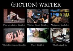 writer images | What People Think Writers Do | 80,000 words