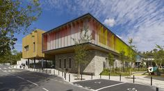 Built by Agence d'architecture Boyer-Percheron-Assus et Associé in La Colle-sur-Loup, France The program : The project consists on the construction of  an eight classroom's primary school, a three classroom's m...
