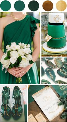 Emerald green gold perfect for formal weddings Women's Fashion Trends Emerald green gold perfect for … Cute Wedding Ideas, Wedding Advice, Wedding Themes, Wedding Designs, Wedding Styles, Wedding Inspiration, Emerald Wedding Colors, Emerald Green Weddings, Outdoor Wedding Reception