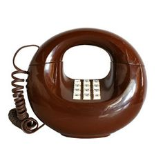 '70s Mod Donut Phone, $112, now featured on Fab.