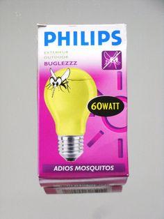 Philips Glühlampe Anti - Insektenlampe BUGLEZZZ 60W 60 W Watt E27 Gelb NEU