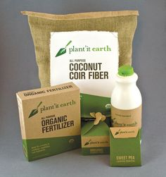 Plant'it Earth Identity & Packaging - Ethan Bennett