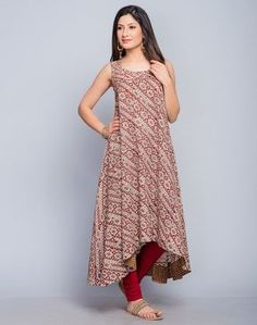 Cotton Dobby Empireline Bias Long Kurta - Luxe Fashion New Trends - Fashion for JoJo Simple Kurti Designs, Kurti Neck Designs, Kurta Designs Women, Kurti Designs Party Wear, Salwar Designs, Blouse Designs, Long Kurta Designs, Pakistani Dresses, Indian Dresses