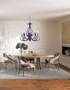 Opera dining table and chairs