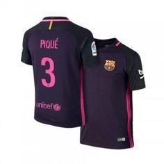 2f17a773dbb 16-17 Cheap Barcelona Away  3 Pique Replica Shirt  H00426  Fc Barcelona