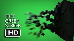 (NEW) Free Stock Green Screen - Concrete Debris Smashed HD Free Green Screen, People Running, Fx Makeup, Special Effects, Breakup, Concrete, Pasta, Movie Posters, Download Video