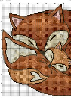 Thrilling Designing Your Own Cross Stitch Embroidery Patterns Ideas. Exhilarating Designing Your Own Cross Stitch Embroidery Patterns Ideas. Cross Stitch Pillow, Cross Stitch Kits, Cross Stitch Charts, Cross Stitching, Cross Stitch Embroidery, Fox Pattern, Modern Cross Stitch Patterns, Cross Stitch Animals, Plastic Canvas Patterns