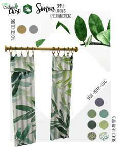 Sims SEASONS expansion only! The Simon Curtains come in Short, Medium, and Long/… Sims SEASONS expansion only! The Simon Curtains come in Short, Medium, and [. Mods Sims, Sims 4 Mods Clothes, Sims 4 Clothing, Sims 4 Cc Packs, Sims 4 Mm Cc, Maxis, Sims 4 Seasons, Sims 4 Traits, Muebles Sims 4 Cc