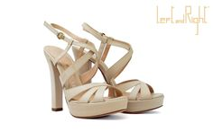 V203-Sandals in waxy leather heel 10 color desert