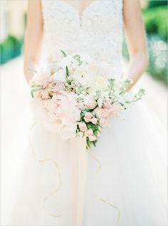 blush wedding bouquet | fabmood.com