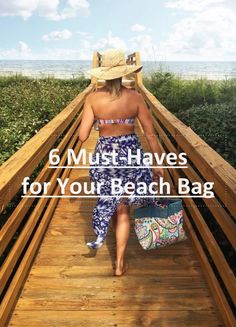 When you're heading to the beach for a full day there are must-have items to pack to ensure you can stay out there as long as possible. Some may surprise you!