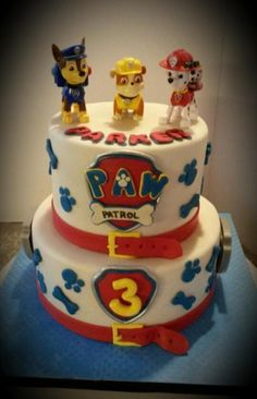 Paw Patrol Birthday Cake | Craftsy