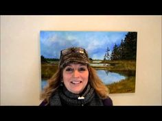 """Udemy Bloopers - Kellie Chasse Fine Art Online Watercolor Courses """"Lupines"""""""