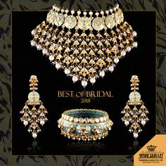An unforgettable traditional necklace that is exclusive, magnificent and super-rich, made with extreme care for the most gorgeous moment of your life - the Wedding Day. To book this piece in advance, call us at 070782 20011 or visit at our store. Indian Jewelry Earrings, Indian Jewelry Sets, Jewelry Design Earrings, Indian Wedding Jewelry, Bridal Jewelry, Gold Jewellery, Jewelery, Indiana, Jewelry Illustration