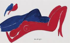 Kees van Dongen「La Quietude」(1915)