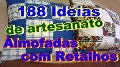 188 Idéias de artesanato almofadas com retalhos